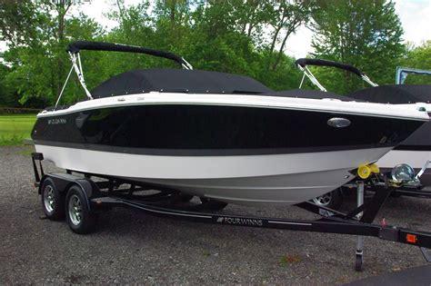 four winns boat trailer wheels four winns h210 bowrider new in rochester ny us