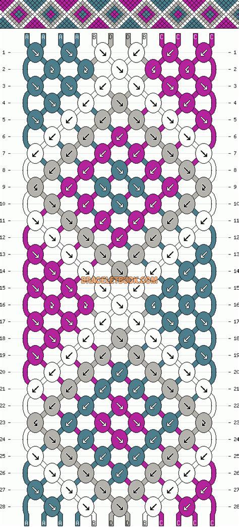 schema pattern d schema bracelet br 233 silien diy jewelry pinterest