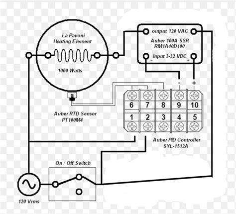 wiring heating element with ssr diagram 39 wiring
