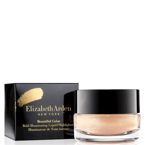 Makeup Elizabeth Arden elizabeth arden beautiful colour bold illuminating liquid highlighter limited edition chagne