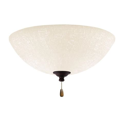 home depot emerson ceiling fans emerson white linen 3 light venetian bronze ceiling fan