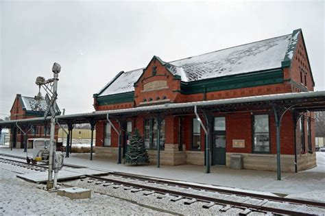the historic depot in independence independence