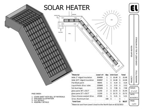 Free Home Plans With Cost To Build by Solar Window Mounted Passive Heater Building Plans