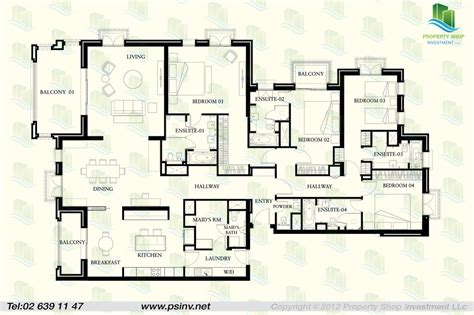 five bedroom flat plan st regis apartments floor plans saadiyat island abu dhabi