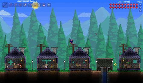 terraria npc house design npc houses terraria modern house