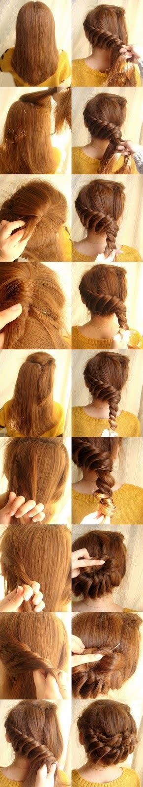 easy hairstyles step by step with pictures step by step hairstyles easy made stylesnew