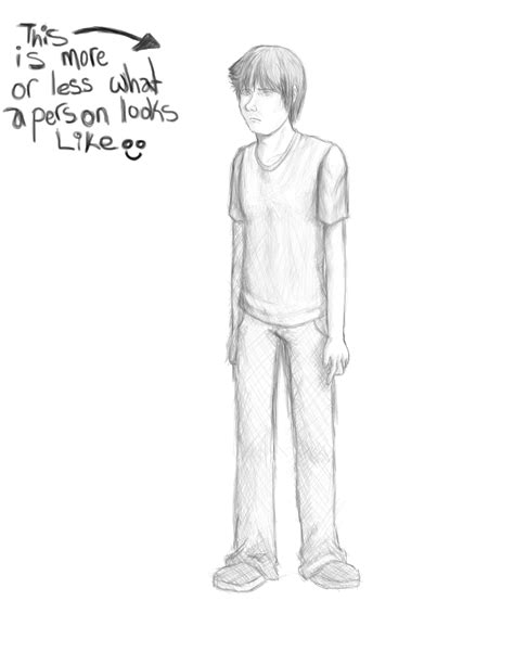 A Drawing Of A Person by How To Draw A Person S 1 P 1 By Livesloweatslow On Deviantart