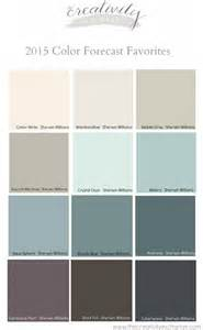 sherwin williams color palette favorites from the 2015 paint color forecasts