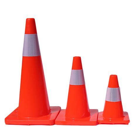 12 quot 18 quot 28 quot traffic cones fluorescent red reflective road