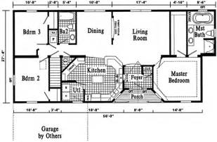 Floor Plans For Ranch Homes Open Ranch Style Home Floor Plan Ranch Floor Plans That