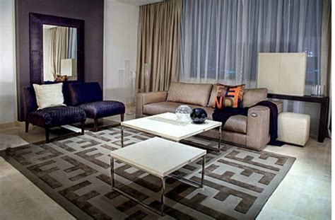 Fendi Living Room Furniture by Luxury Modern Furniture By Fendi