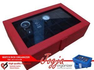 Kotak Tempat Perhiasan Pink Accesories Pink Muda New Jewelry Box black box for 12 watches box jam tangan isi 12