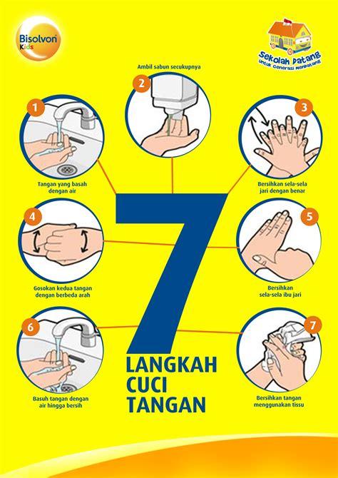 langkah langkah poster cuci tangan 7 langkah related keywords poster