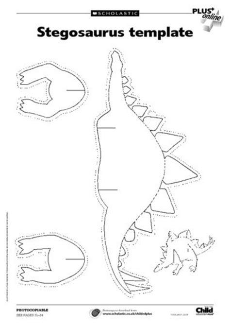 dinosaur bones template stegosaurus printable and triceratops skeleton printable