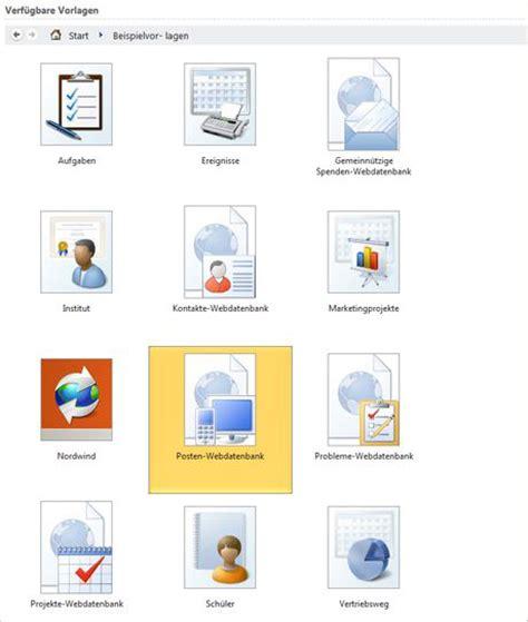 Access Design Vorlagen microsoft access 2010 1pc 1user de software