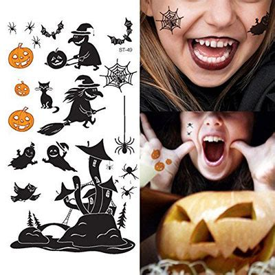 small halloween tattoos 15 cool small themed ideas for