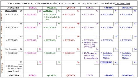Calendario Yoruba 2015 Casa Amigos Da Paz Quot Cos De Oxossi E Ogum Quot Janeiro 2014