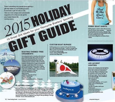 5 Gift Guide Posts To Blogstalk by Gift Guide Powerboating