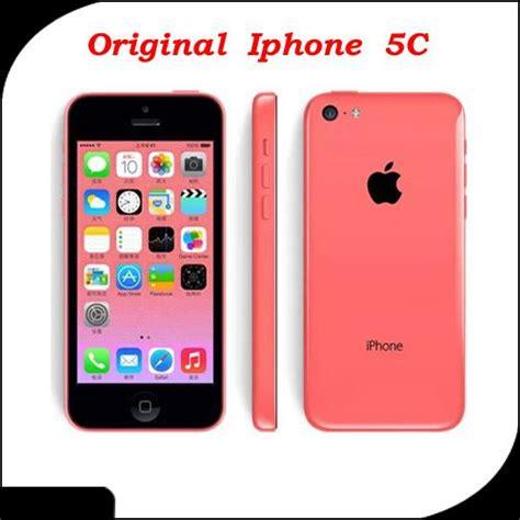 100 original apple iphone 5c refurbished iphone 5c cellphones unlocked mobile phone ios 4 0 ips