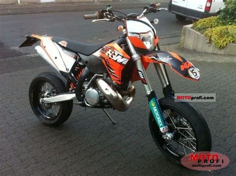Ktm Exc 300 Supermoto Ktm 300 Exc 2010 Specs And Photos