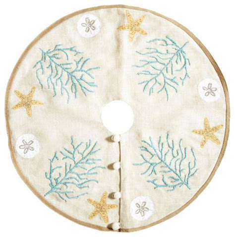 beach themed tree skirt nautical tree skirt tropical tree skirts by wisteria