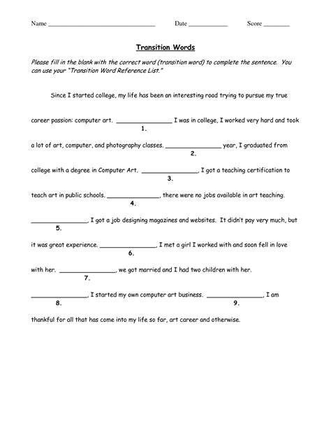 Vocabulary Worksheets Middle School by Word Worksheet Category Page 9 Worksheeto