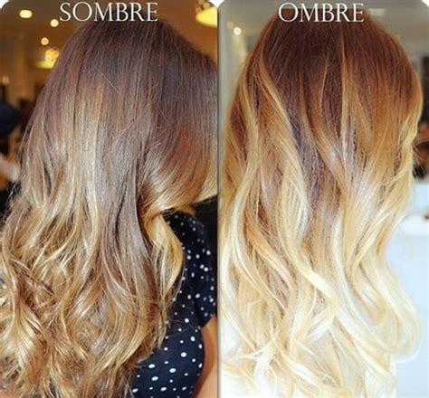 what is sombre hair balayage vs ombre vs sombre