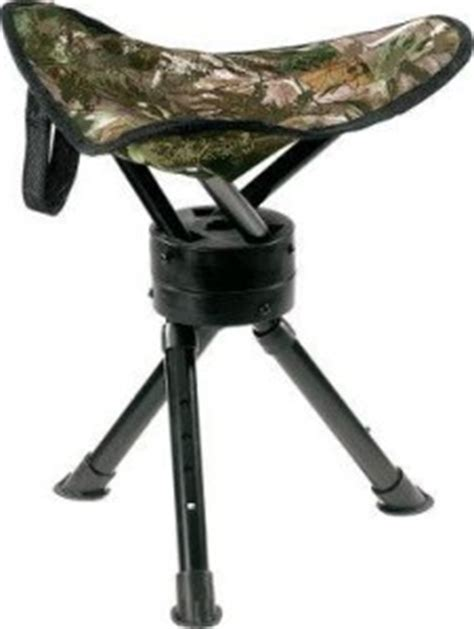 swivel camo stool seat chair pigeon shooting hide rotating