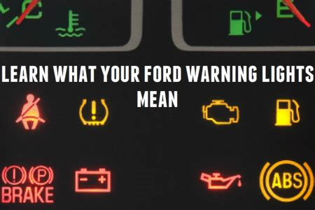 ford escape warning lights ford escape warning lights 2017 2018 2019 ford price