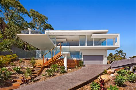 Roof Deck Plan Foundation Newport Headland Contemporary Exterior Sydney By