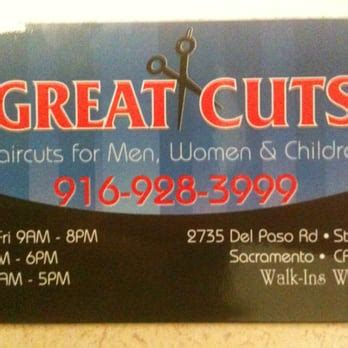 business cards sacramento ca great cuts 18 reviews hair salons 2735 paso rd