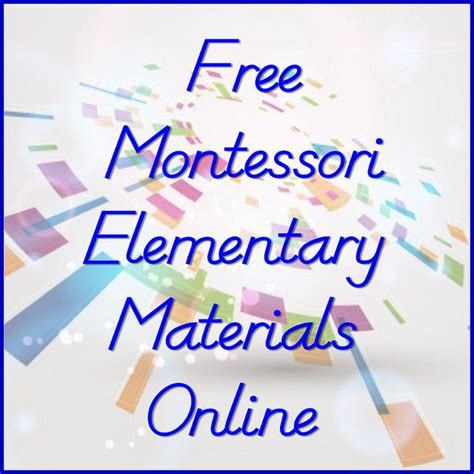 printable montessori lower elementary materials 20 best images about worksheets activities on pinterest