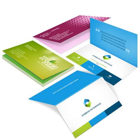 printrunner business card template folded business cards folded business cards printrunner