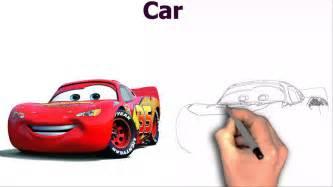 Lightning Mcqueen Car Drawing Disney Cars Lightning Mcqueen Image Wallpaper