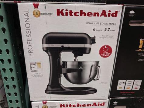 kitchenaid professional  qt mixer  flexedge