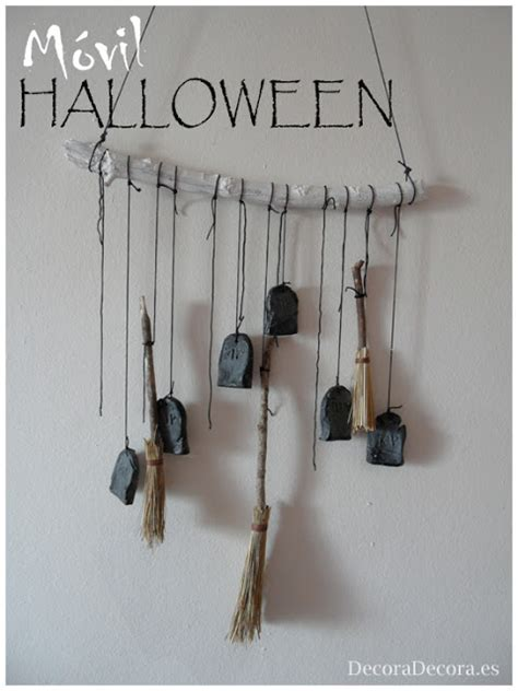 decorar escobas para halloween un m 243 vil para decorar en halloween