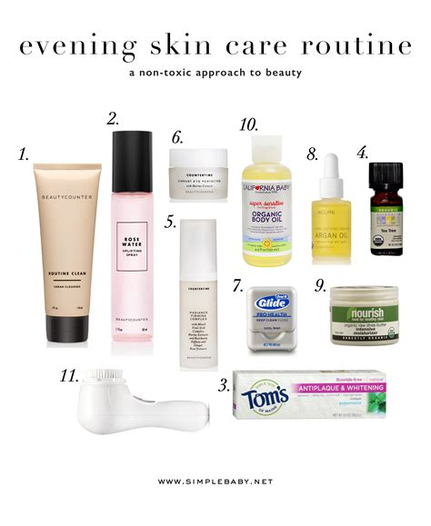 A New Skincare Routine 2 by My Evening Skin Care Routine Simple Baby
