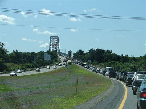 traffic report cape cod traffic before the bourne bridge cape cod august 2009