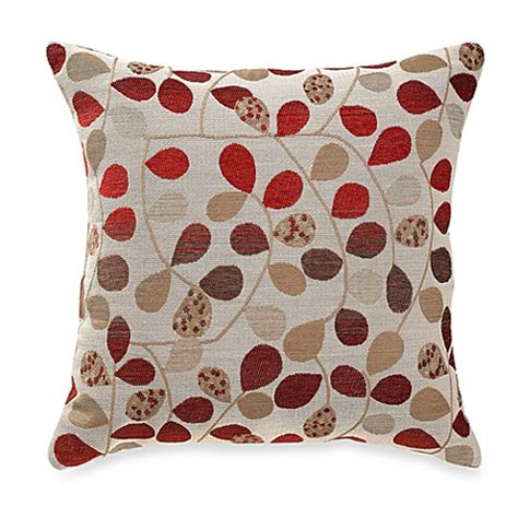 bed bath and beyond decorative pillows bayberry rouge 20 inch square throw pillow bed bath beyond