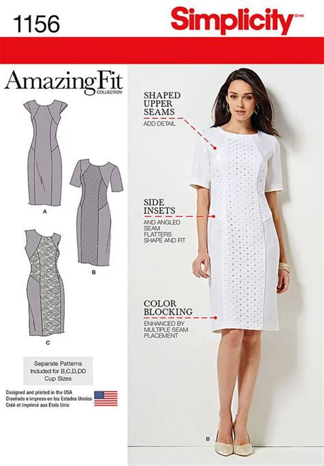 pattern manipulation pinterest simplicity pattern 1156 misses and miss plus amazing by