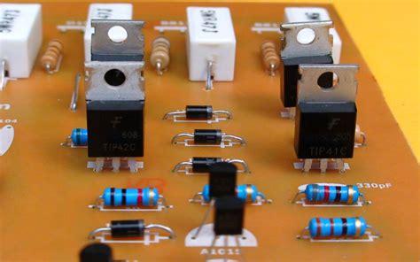 transistor tip41c reemplazo construya un lificador estereo de 400w