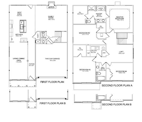 preston floor plan preston knoxville tn homes
