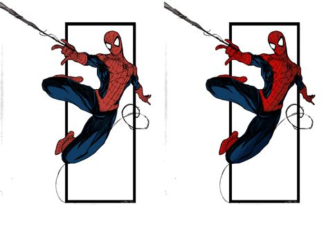 spider man swinging from web spiderman swinging by grover8 by therandomizedguy on