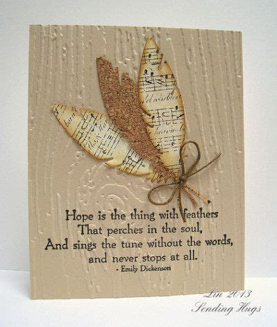 Handmade Sheet Greeting Cards - best 25 feather cards ideas on die cut cards