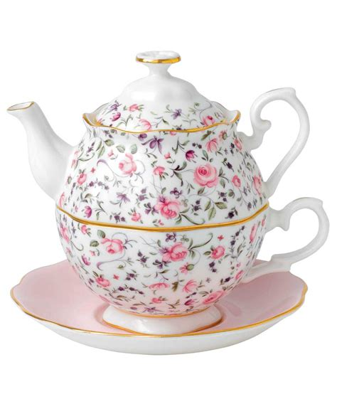 Teacup New Country royal albert new country roses tea confetti tea for one