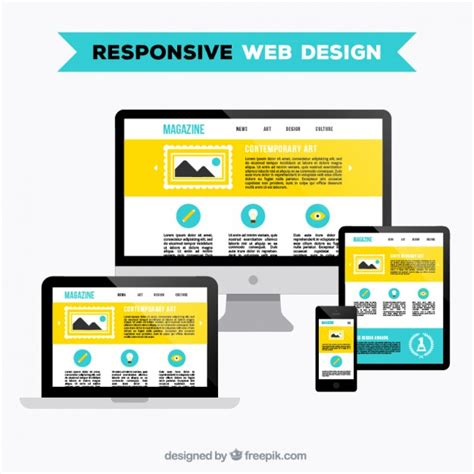 responsive layout download free responsive web design vector free download