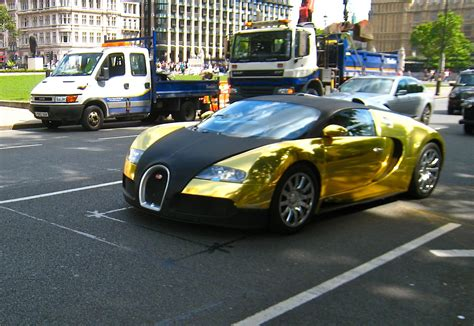 golden bugatti bugatti veyron cars wallpapers
