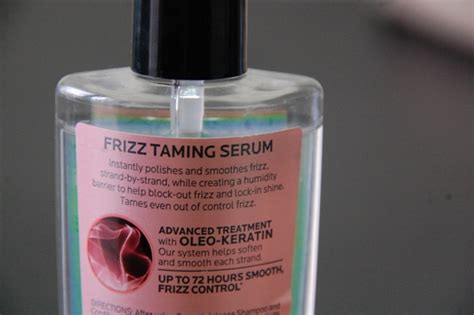 the best hair serums to smooth your the huffington post l oreal new smooth intense frizz taming serum review