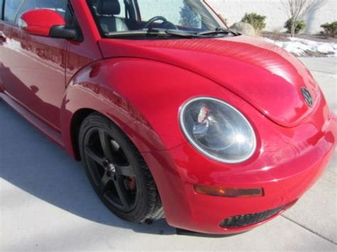 old car manuals online 2009 volkswagen new beetle transmission control buy used 2009 vw beetle coupe 2 5l 5 speed manual 1 owner leather heated seats clean lqqk in