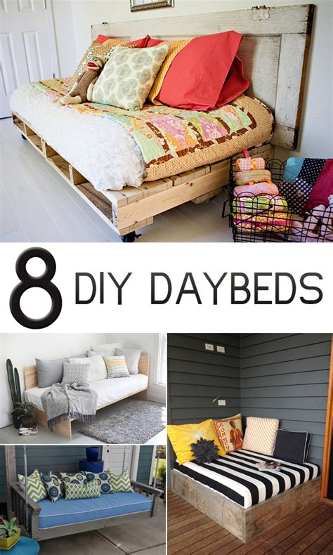 14 Diy Ideas For Your 8 Gorgeous Diy Daybed Ideas For Your Home